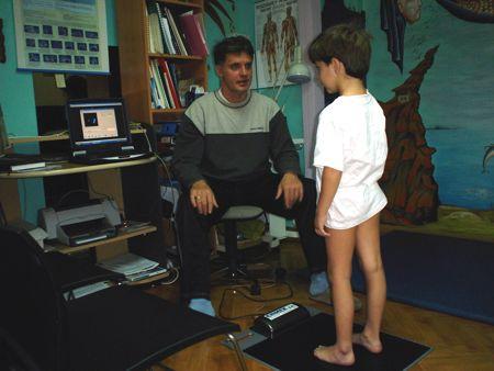 Πελματογράφηση – Μονάδα Παιδιατρικής Αναπτυξιακής Παρέμβασης
